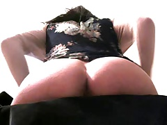 command the bitch - big ass tranny video