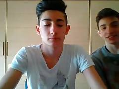 18yo Cute Italian Boys Show Their Hot Asses 1st Time On Cam