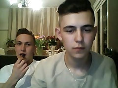 Romanian & Italian Boys Have Fun On Webcam (Hot Abs & Asses)