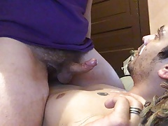 Licking balls and facial