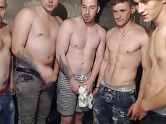 5 Beautiful Boys Fuck Each Other Ass On Cam