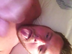 Twink gives himself a great self facial 2