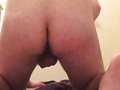 Fingering hairy tight ass cumming butthole contractions