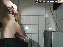Boy - At first talk, then Penispump, Cumshot & Ass Show
