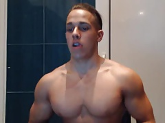 Muscle Gorgeous Boy With Very Big Thick Cock On Cam (HD)
