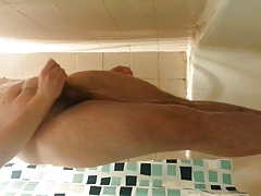 18yo twink playing in shower