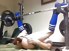 Boytoyslutboy femboy ass workout pt 2