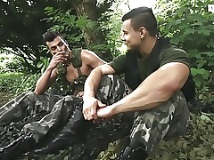 military at ease scene 1
