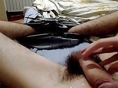 Big hairy Romanian dick huge cumshot
