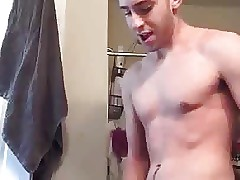 Hot Hung College Guy Blows A Load