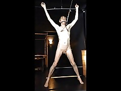 NAKED BIMBO TWINK IN HUMILIATING NIPPLE TORTURE PREDICAMENT3