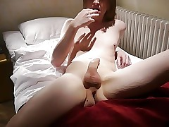 Wanking and Eating My Cum
