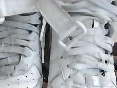 Sniff and cum all over my sneakers