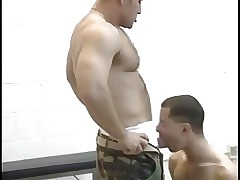 Extremely hot dad fucks nasty boy