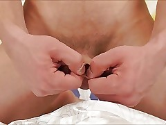 Solo Gay Uncut Masturbation
