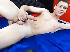 Thick Cock Cute Russian Boy Jerks Off