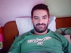 Greek Man With Big Cock Cums On Cam