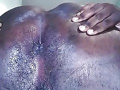 Black Chub Spread Ass Cheeks