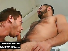 Alessandro Del Toro destroys Tristan Mathews from behind