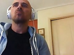 Greek Handsome Gay Man,Big Ass And Big Cock On Cam