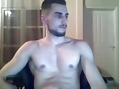 14. Handsome Fit Boy Cums On Cam, Big Cock & Great Round Ass