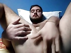 20. Gay Boy Fingering His Big Fat Ass On Cam
