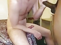 Masked twink fucked by black master