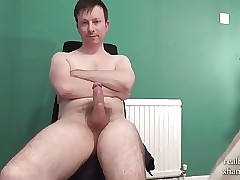 Unbelievably Horny Boy Wanks Off Hot Thick Cock