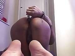 Playing with my leaking gay ass