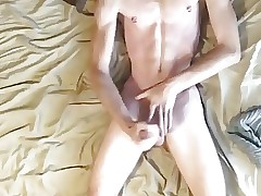 After shower cum boy