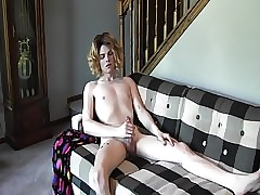 My masturbating models - femboy Ethan