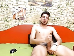 No1. Cute Boy Cums On Cam, Dildo Fucking Ass