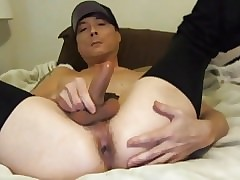 Sexy Logan Strokes His Hard Cock