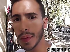 Young Latino gets paid to be barebacked for the first time