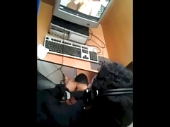 caught jerking off in a cyber cafe