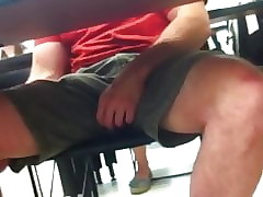 WHILE IN THE CLASS PLAY WITH THE COCK