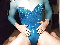 Blue Milano Leotard Cum