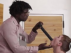 Boy gets abused by black man