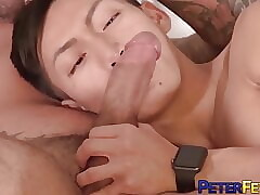 PETERFEVER Gaysian Bottom David Ace Raw Fucked By Inked Stud