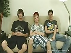 Straight boys reality show new twink