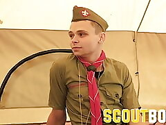ScoutBoys - Young twinks caught by older man then fucked