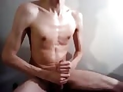Lubed hung asian twink