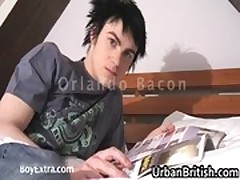 Orlando Bacon jerking his firm gay gay porno