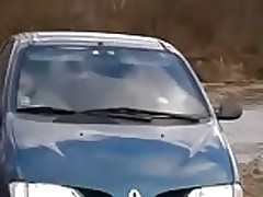 Amateur twinks car blowjob