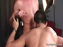 Cute latin twinkie David gets jizzed gay porn