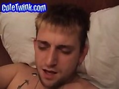 Eager White Twink Sucked