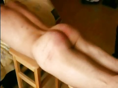 twink spanked by several object 001