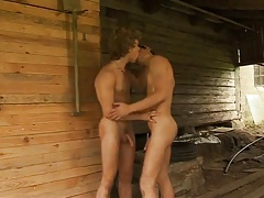 body to Body outdoor in a barn