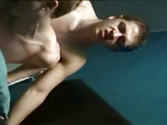 Old School Twink Sex in Sauna