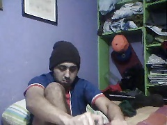 straight guys feet on webcam 59 - soccer plyr from colombia